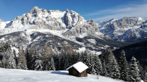 Bild: Winter in Alta Badia